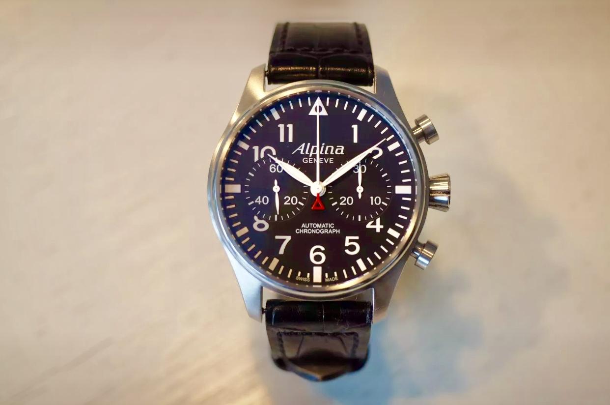 Alpina Startimer Pilot Chronograph Automatik NP: € 2.500,-