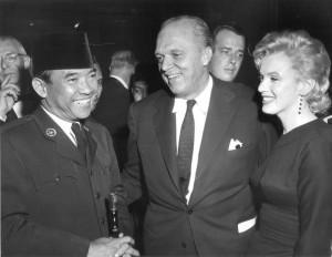 Sukarno & Marilyn Monroe